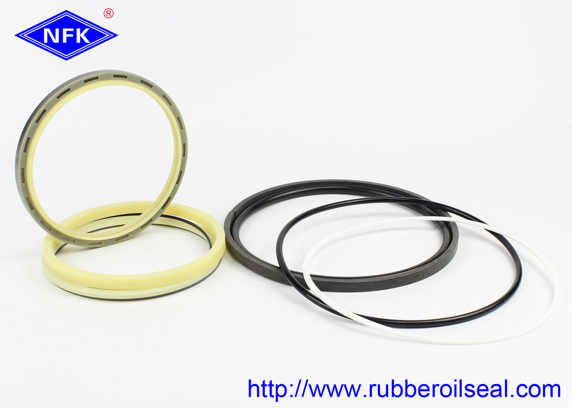 CAT E374D Excavator Bucket Seal Kit , Hydraulic Cylinder Packing Kit NBR 90 Hardness