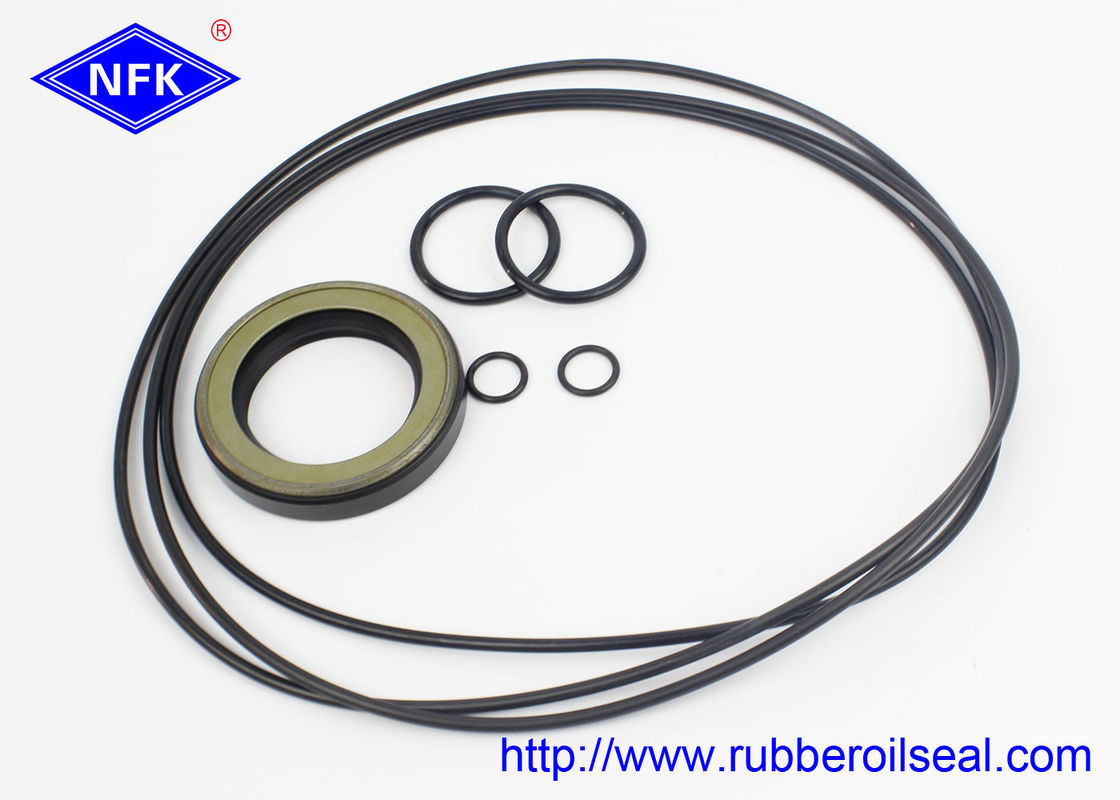 Rubber Material Hydraulic Cylinder Seal Kits K3V180DT For Excavator R370-7 R420