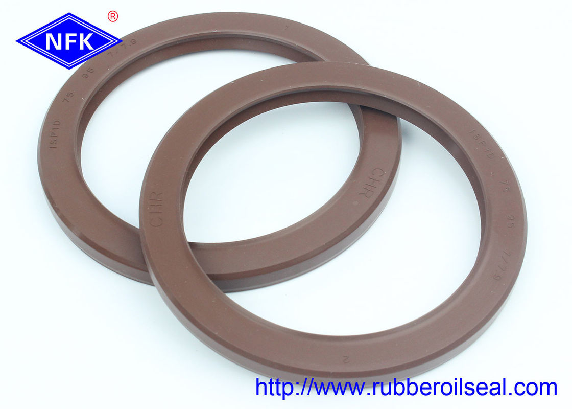 Dustproof Lip Temperature oil high pressure   oil seal  ISPID 75*95*7 Hydraulic pump main shaft oil seal